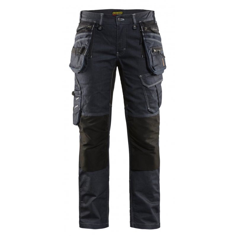 Blåkläder Werkbroek Dames X1900 Stretch MARINEBLAUWZWART MT D19
